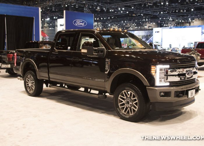 2020 Ford Super Duty (2018 Model Pictured)