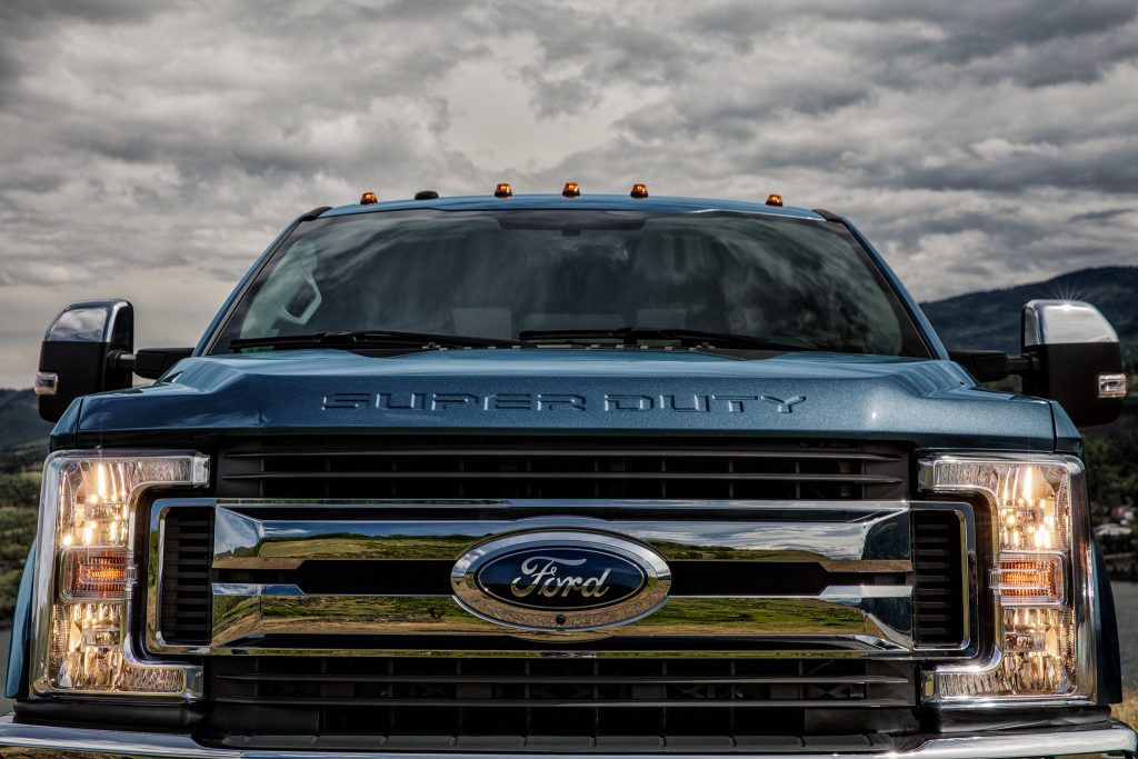 2020 Ford F-Series Super Duty best-in-class